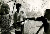 image of Bonnie and Clyde (Original double weight photograph from the 1967 film)