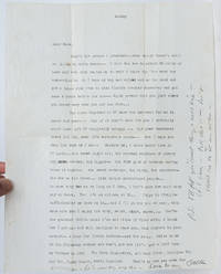 Typed Letter Signed on his return home from visiting William S. Burroughs in Mexico, reflecting on leaving New York
