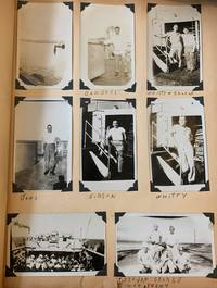 Photograph Album of Pvt. Bruno J. Moio kept during WWII recording his service in San Francisco, California,  India and Japan