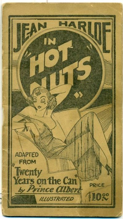 Jean Harlow In Hot Nuts Tijuana Bible By Jean Harlow