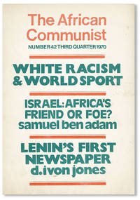 image of The African Communist (Quarterly). No. 42 - Third Quarter 1970