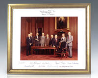 Warren E. Burger Supreme Court Signed Photograph.