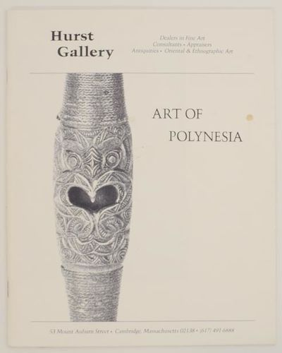 Cambridge, MA: Hurst Gallery, 1997. First edition. Softcover. 52 pages. Introduction by gallerist No...