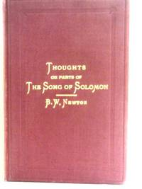 Thoughts on Parts of the Song of Solomon
