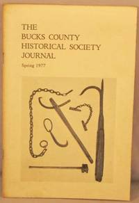 image of Bucks County Historical Society Journal, Spring 1977.