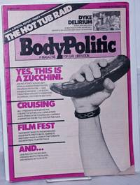 The Body Politic: a magazine for gay liberation; #58, November 1979: Yes, This is a Zucchini