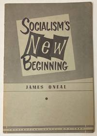 image of Socialism's new beginning. Cover design and illustrations by Mitchell Loeb