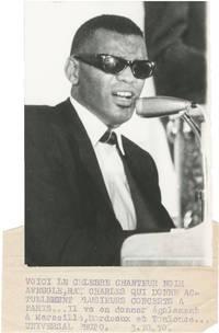 image of Original photograph of Ray Charles, 1970