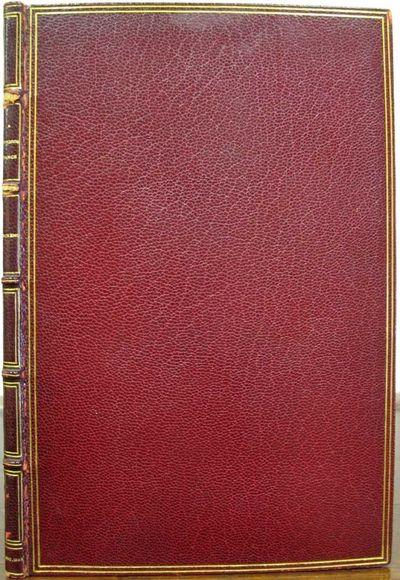 : , 1860. 1st separate edition, second issue (Eckel, pp. 188-191; Gimbel B-216; VanderPoel B-465). F...