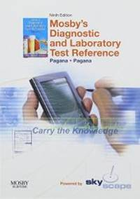 image of Mosby's Diagnostic and Laboratory Test Reference - CD-ROM PDA Software Powered by Skyscape, 9e