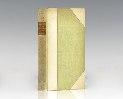 London: J. M. Dent & Co, 1905. Finely bound example of Holmes' famed work of prose. Octavo, bound in...