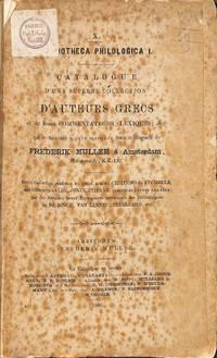 Catalogue 10 / 1869: Bibliotheca Philologica I. Superbe Collection  D'auteurs Grecs et De Leurs Commentateurs, Lexiques, etc...