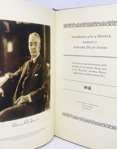Privately Printed, 1925. Hardcover. Cream boards with paper title. Fine, in good glassine wraps and ...
