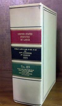 United States Statutes at Large Volume 89 (1975)