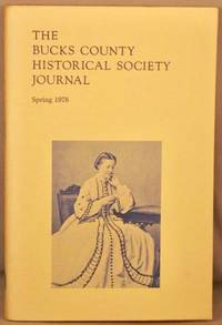image of Bucks County Historical Society Journal, Spring 1978.