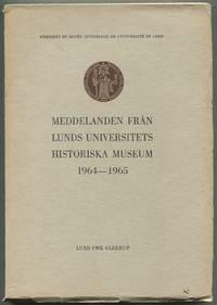 image of Meddelanden fran Lunds Universitets Historiska Museum 1964-1965