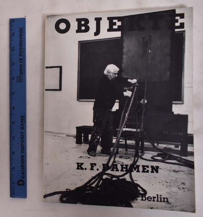 Berlin: Dibbert Galerie, Berlin, 1981. Softcover. VG light edge-wear & creasing to cover edges. mark...