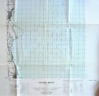 image of Fold-Out Topographical Survey Map. Victoria Beach, Manitoba