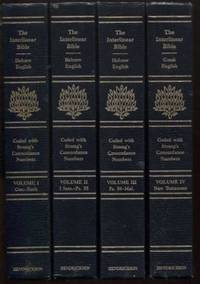 The Interlinear Hebrew-Greek-English Bible Four Volume Set