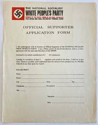 image of Official Supporter Application Form