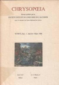 Chrysopoeia/ année complete 1988 / 4 numeros