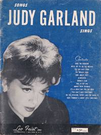image of Songs Judy Garland Sings