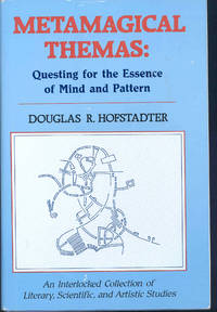 """Metamagical themas : questing for the essence of mind and pattern. [On Self-Referential Sentences. The strangeness of language folding back on itself is explored here in dozens of different ways, many of them quite amusing;   Self-Referential Sentences: A Follow-Up. A large collection of new material carries the idea of linguistic folding-back considerably furthe r, and goes more deeply into the mechanisms of linguistic self-reference and self-replication;  On Viral Sentences and Self-Replicating Structures. In which the concept of """"memes"""", or self-replicating ideas, is discussed, as well as the idea of indirect self-reference;   Nomic: A Self-Modifying Game Based on Reflexivity in Law. A remarkable game is described]"""