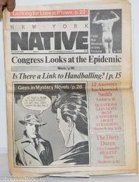 image of New York Native: #37, May 10-23, 1982: Congress Looks at the Epidemic
