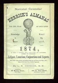 image of National Calendar or Herrick's Almanac for the Year of Our Lord 1874