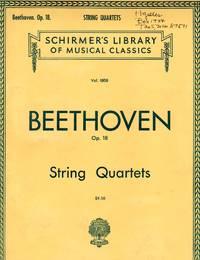 [Six] String Quartets, Op.18