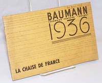 Baumann Colombier Fontaine (Doubs) 1936. La Chaise de France