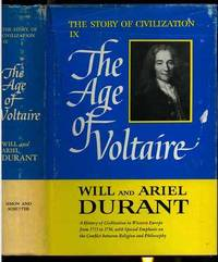 THE AGE OF VOLTAIRE The Story of Civilization Vol IX Only