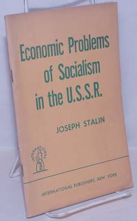 image of Economic problems of socialism in the U.S.S.R.
