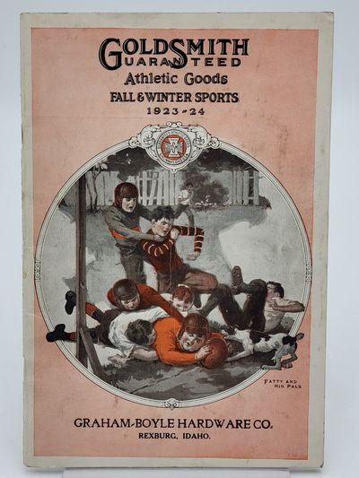 Cincinnati.: Goldsmith Athletic Goods., 1923. Pictorial stapled wraps.. Very good, back cover edgewo...