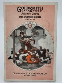 Goldsmith Guaranteed Athletic Goods Fall and Winter Sports Catalog, 1923-24.