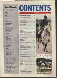 image of Hoofs and Horns Magazine November 1990