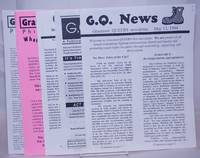 image of GQ News: Grassroot Queers newsletter [five issues]