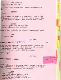 image of Control (Original screenplay for the 2007 film, actor Sam Riley's copy)