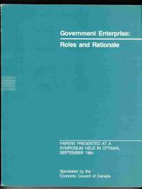 Government Enterprise: Roles and Rationale