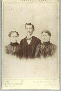 CABINET CARD PHOTOGRAPH OF FAMILY FROM SULLIVAN, INDIANA