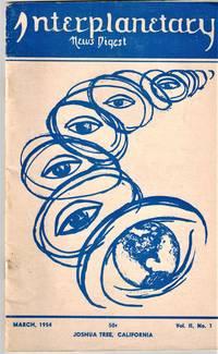 image of Interplanetary News Digest, Volume II, Number 1, 1954