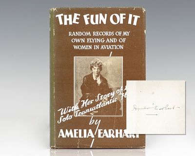 New York: Brewer, Warren & Putnam, 1932. First edition of Earhart's account of her childhood, her fa...