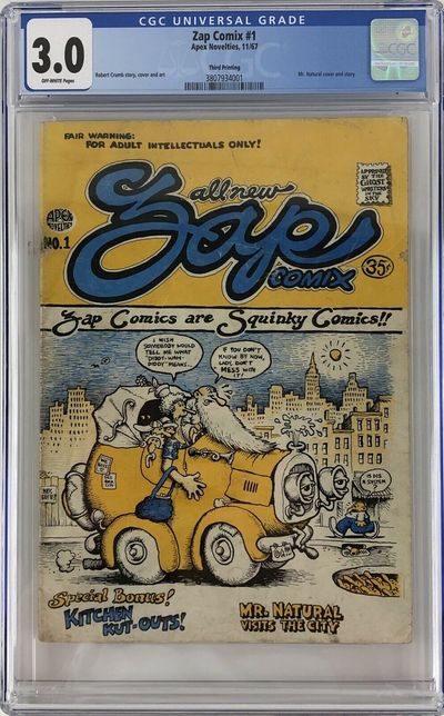 Apex Novelties, 1967. Saddle-stitched. CGC Graded 3.0 (Good/Very Good). 1344442. Special Collections...