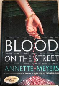 Smith and Wetzon: Blood on the Street  (1992, Hardcover) SIGNED
