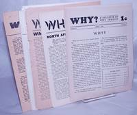 image of Why? A bulletin of free inquiry [8 issues]
