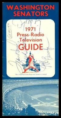 image of WASHINGTON SENATORS 1971 PRESS-RADIO TELEVISION GUIDE