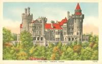 Canada – Casa Loma, Toronto, 1910s-1920s unused Postcard
