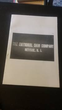 Price List of the National Saw Company Saws