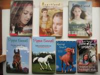 image of 7 pony stories published post 2000: Racing start; 3 Heartland stories:  Coming home, After the storm & One day you'll know; Pride and Joy the  event horse; Moonshadow the Derby winner and Mystic & the midnight ride in  the Pony club secrets series