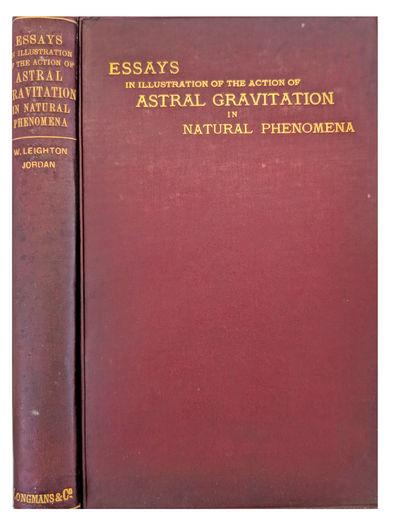 New York:: Longmans, Green, 1900., 1900. 8vo. xiv, , 192, 32 pp. Frontis., 33 figs., folding table, ...